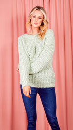 Light Green Knitted Jumper