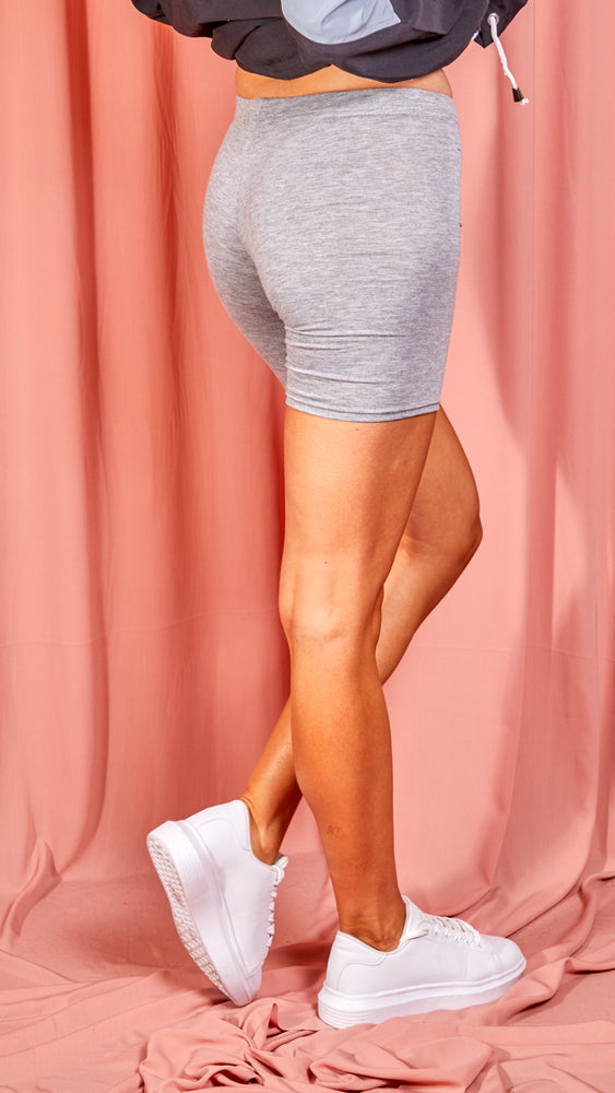 Bailey Grey Bicycle Shorts