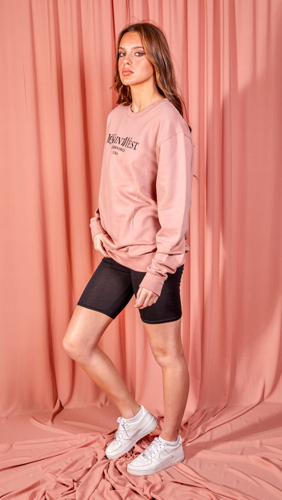 Ye Saint West Oversized Sweatshirt - Pink