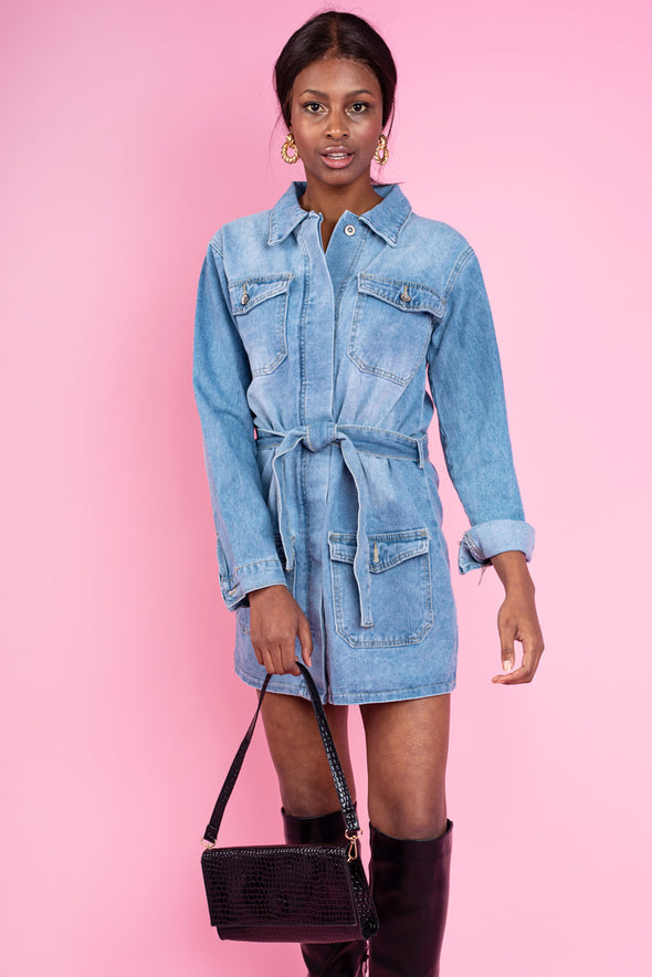 Dana Denim Jacket Dress
