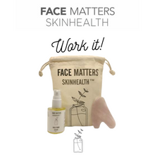 Load image into Gallery viewer, Work It - Face Food Serum, Gua Sha, Bag kit