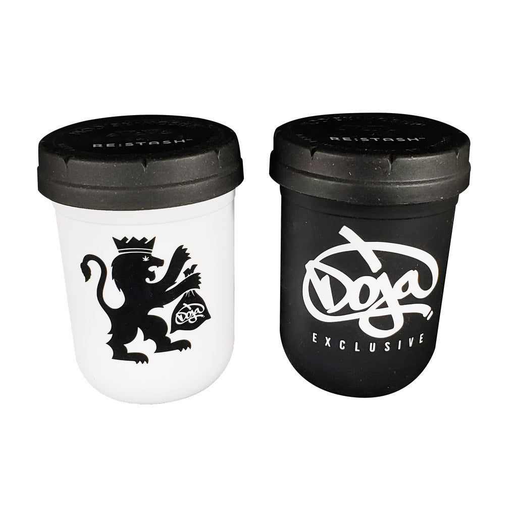 Black & White Stash Jar Doja Exclusive