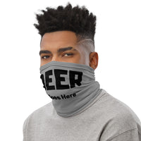 Neck Gaiter Bandana - Beer Goes Here
