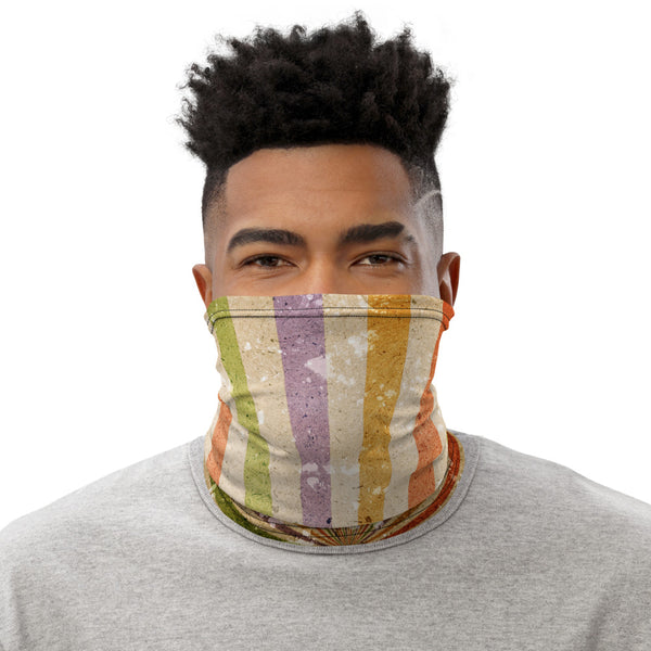 Neck Gaiter Bandana - Retro Colors