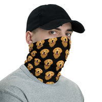 Neck Gaiter Bandana - Retriever Lover