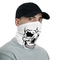 Neck Gaiter Bandana - Black Scull