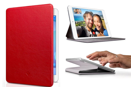 three different views of ultra slim twelve south iPad case