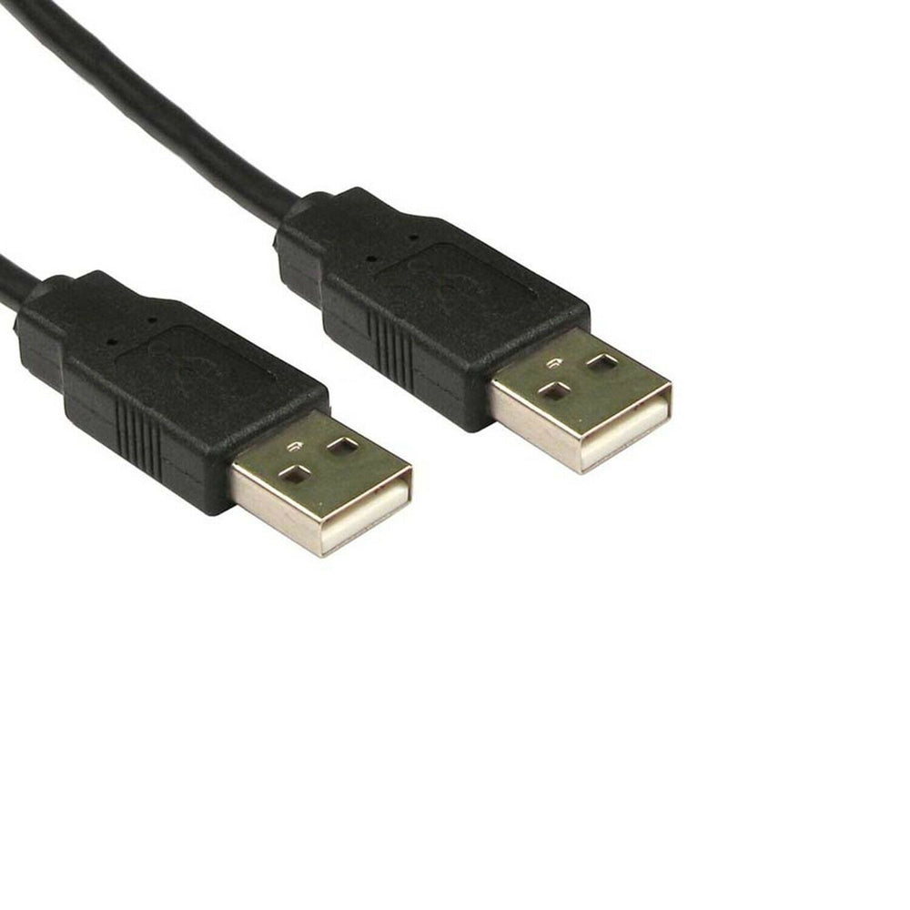 usb to usb cable, black