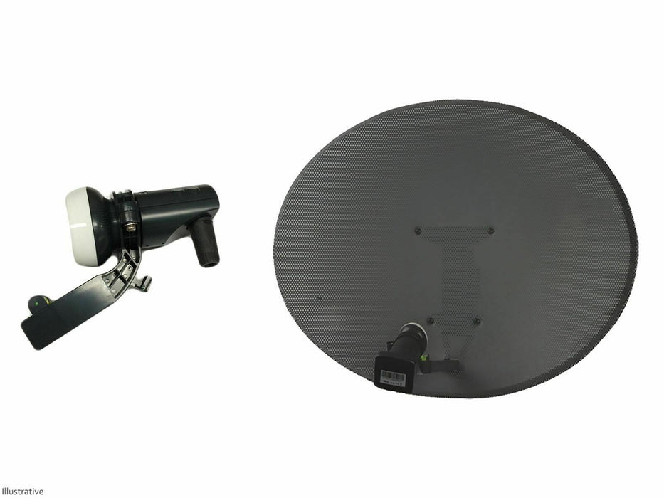 Zone 2 Satellite Dish With Single LNB