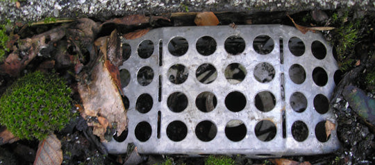 Gutter filter 3 years old and still working