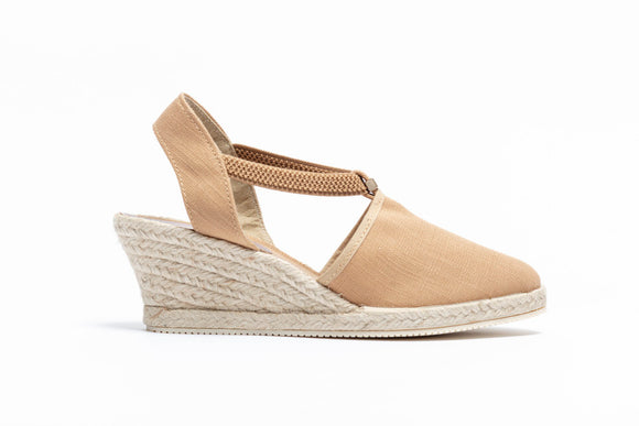 ShoeDolly Camel City - Mid Heel Espadrille