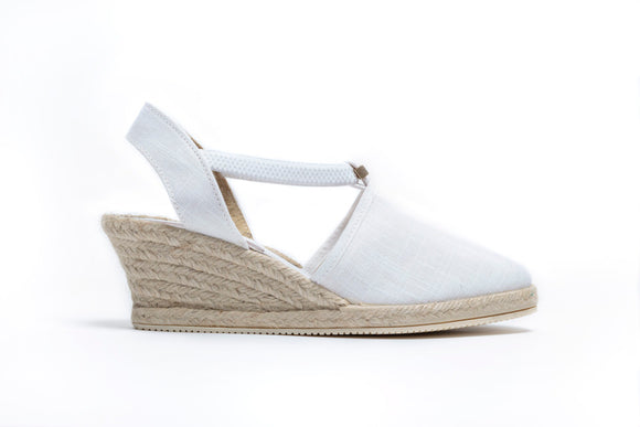 ShoeDolly White City - Mid Heel