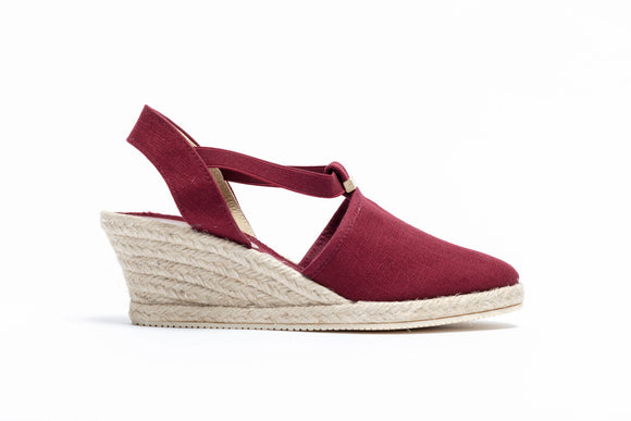 ShoeDolly Burgundy City - Mid Heel