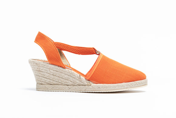 ShoeDolly Burnt Orange City - Mid Heel
