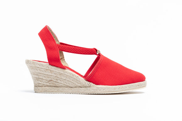 ShoeDolly Red City - Mid Heel
