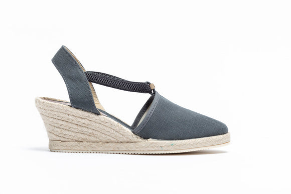 ShoeDolly Slate Grey City - Mid Heel