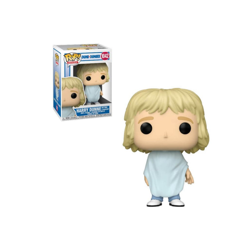 Dumb and Dumber Harry Getting Hair Cut Funko Pop - Toy