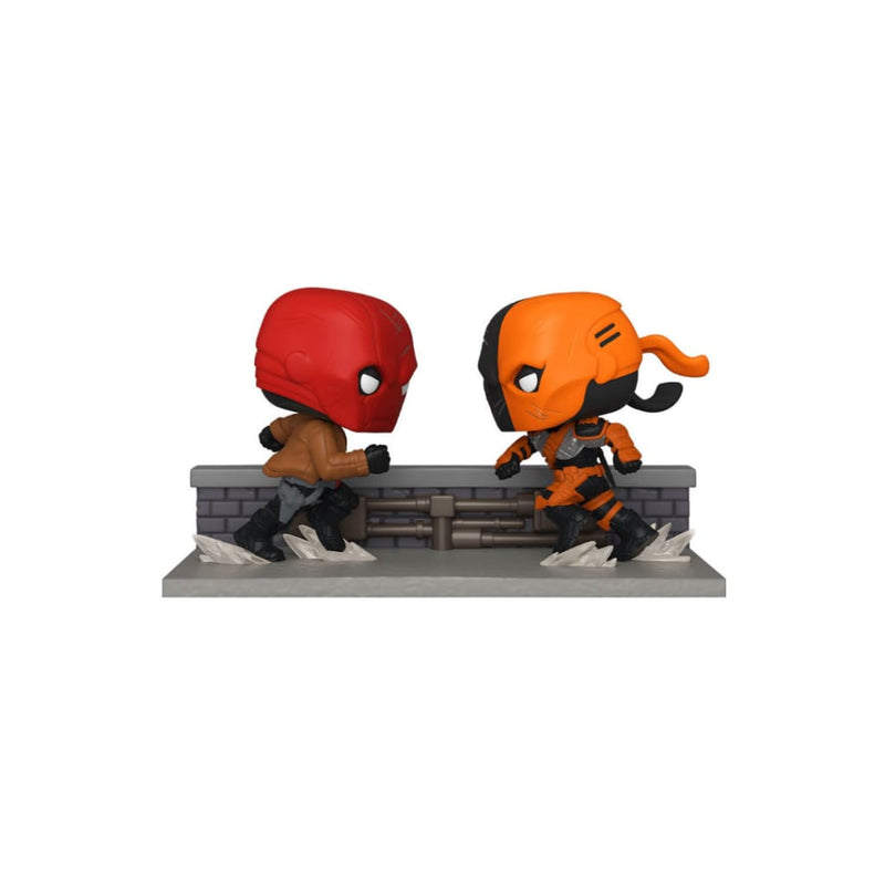 Sdcc 2020 Red Hood Vs. Deathstroke Comic Moments Funko Pop!