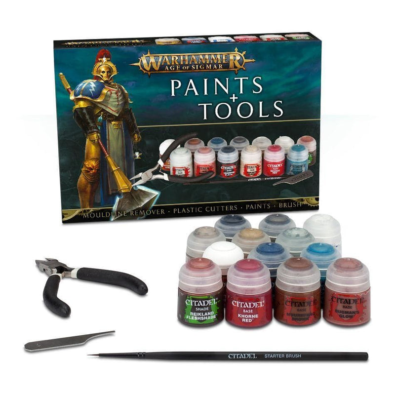 Warhammer 40k - Paints and Tools - Miniatures