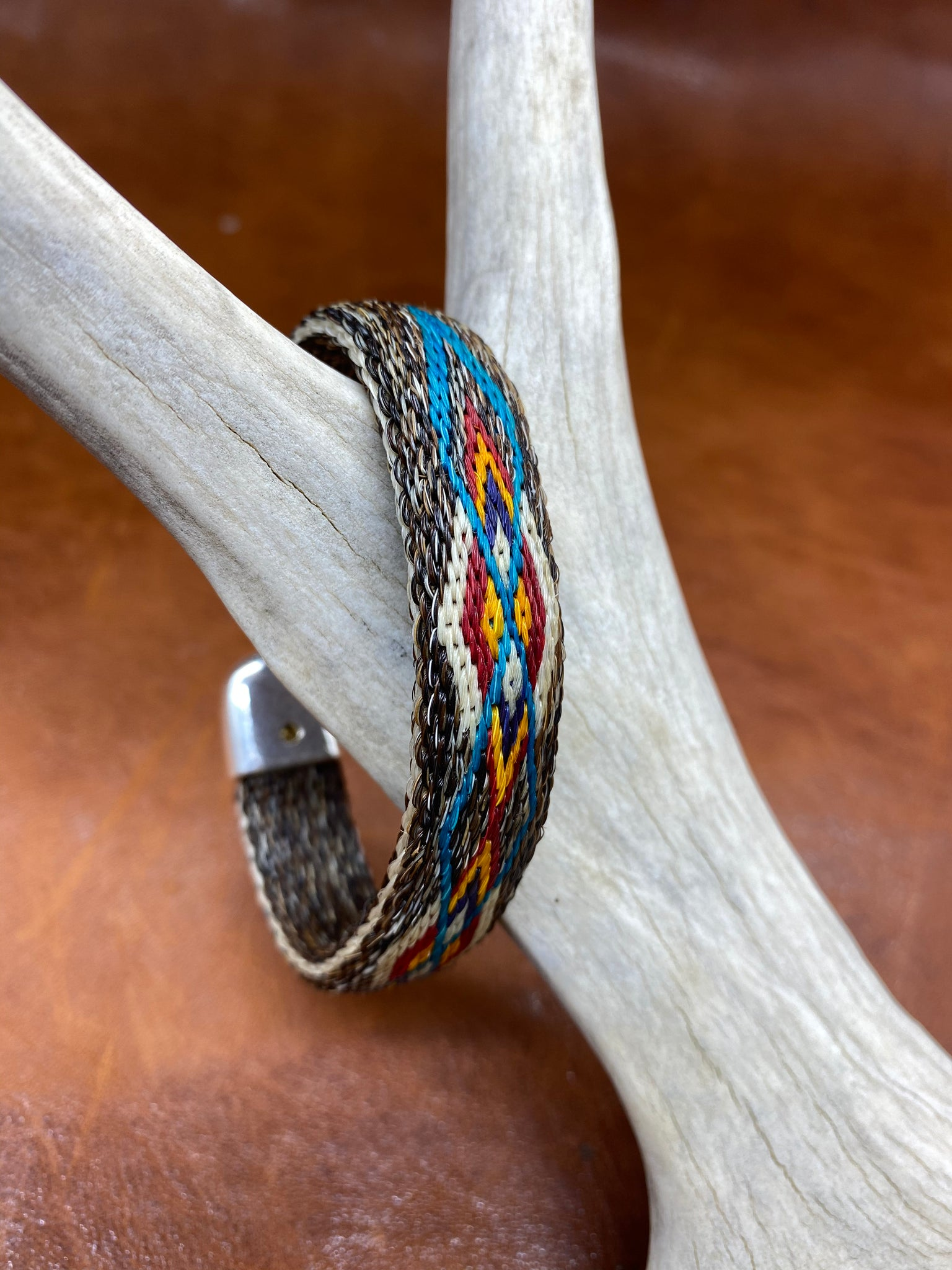 """Diamonds"" - Hitched Horse Hair Adjustable Bracelet"