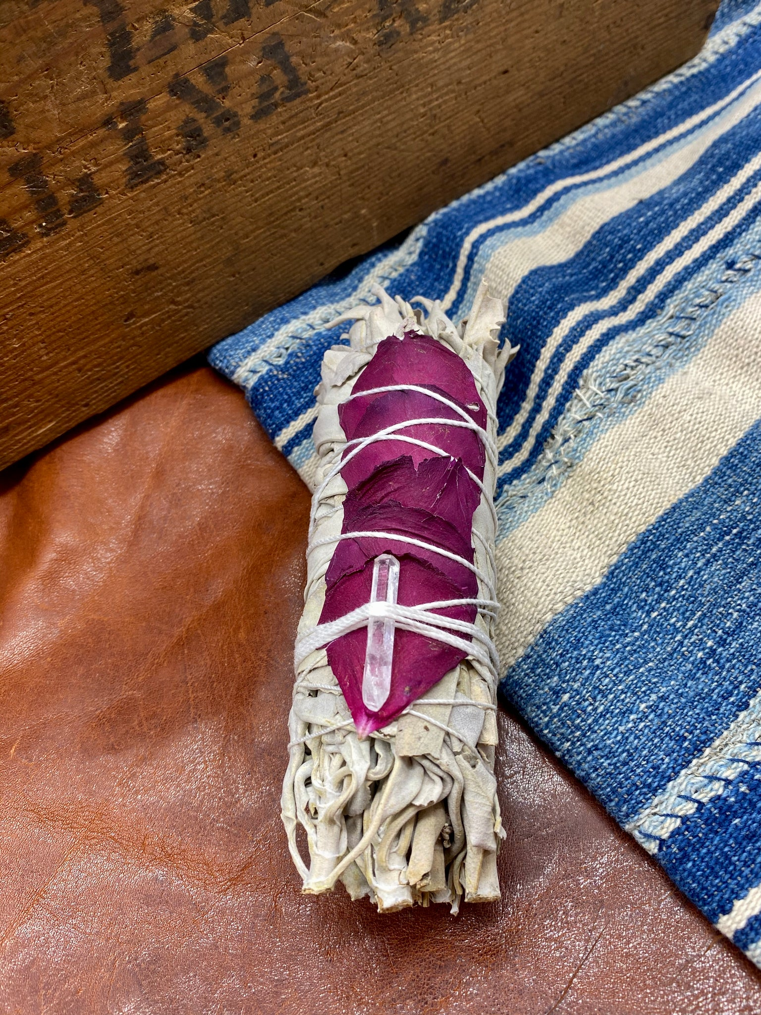 Burgundy Rose Sage Bundle