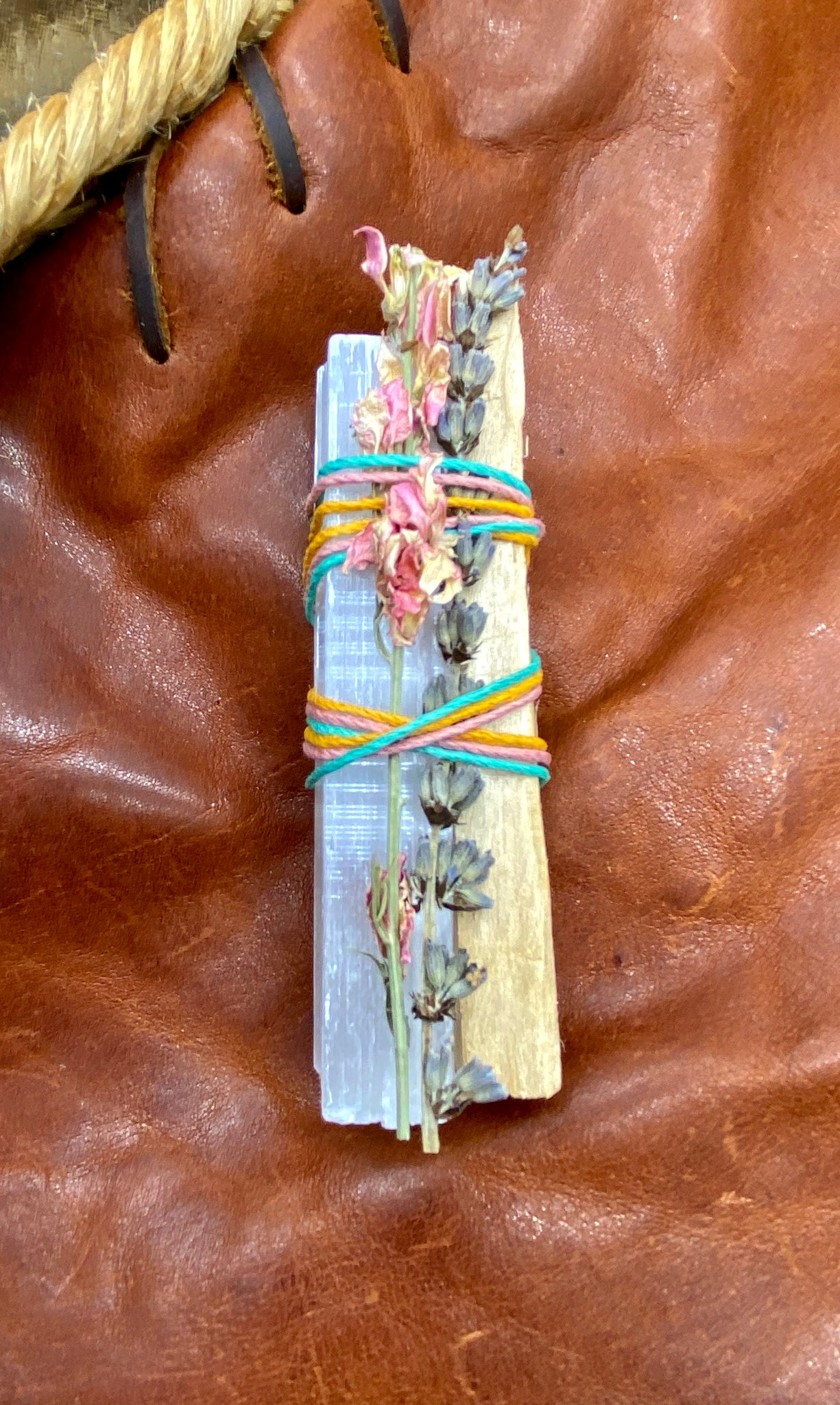 Selenite Lavender Palo Santo Bundle