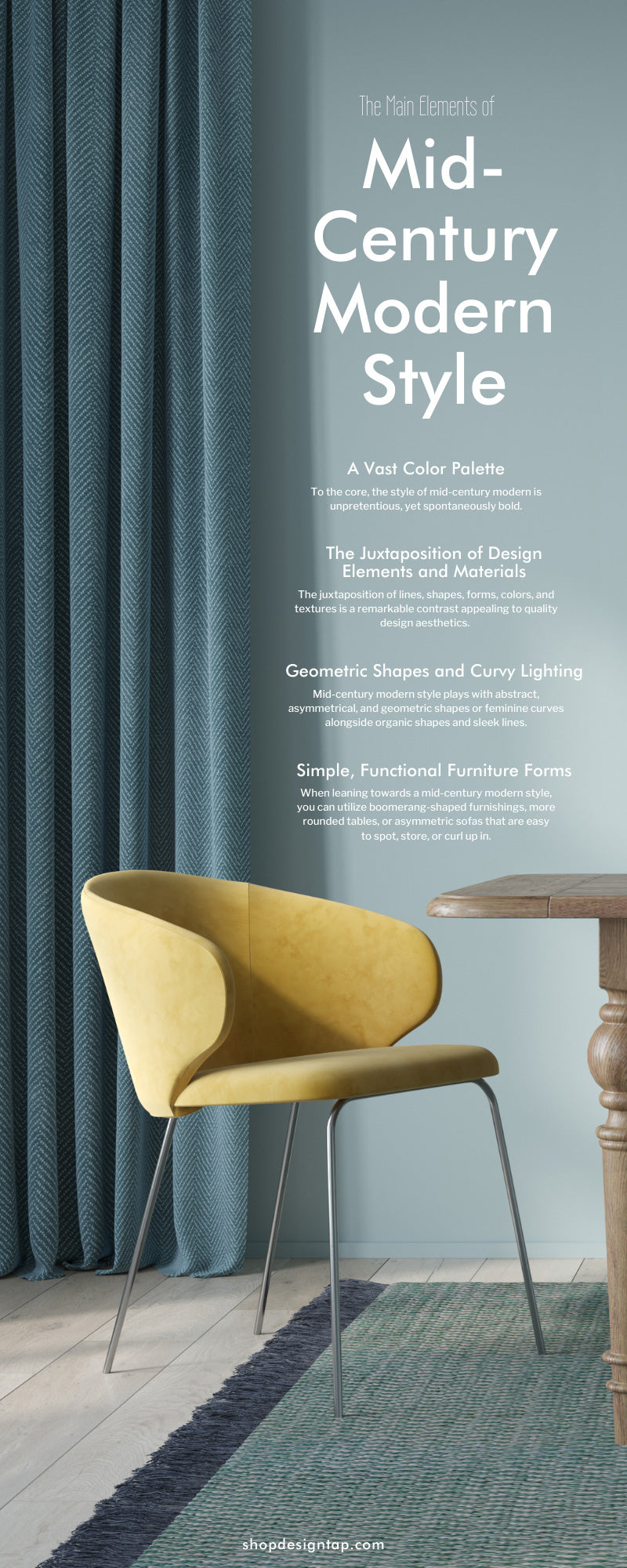 The Main Elements of Mid-Century Modern Style