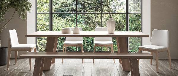 shop HEIDI DINING TABLE + BENCH