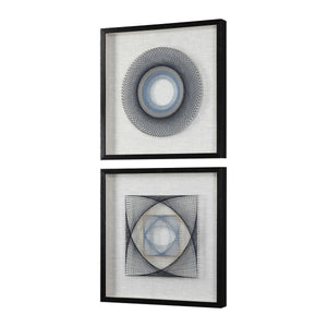 STRING DUET SHADOW BOXES | SET OF 2