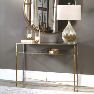 GILDA MIRRORED TOP CONSOLE