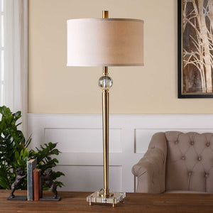 SYLVAN SLIM BRASS LAMP