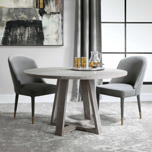 "AVILA 52""ROUND DINING TABLE"