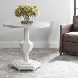 BARDOT GLOSS WHITE FOYER TABLE