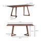 GODENZA DINING TABLE: WALNUT