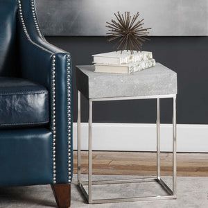 CHROMA CONCRETE ACCENT TABLE