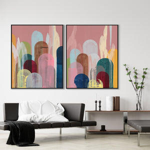 """DREAMING LOLLIPOP I"" CANVAS ART"