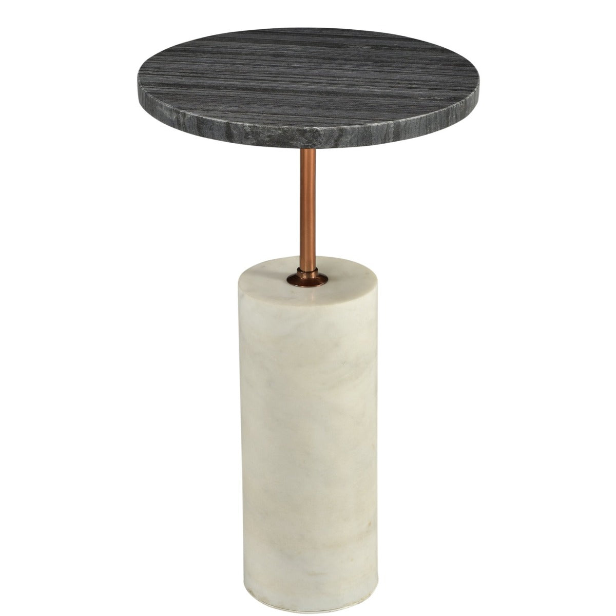 - DUSK BLACK+WHITE MARBLE ACCENT TABLE – The Design-Tap