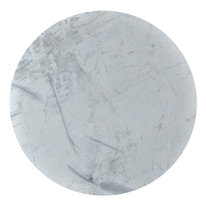 "JINXX 48""ROUND MARBLE TOP DINING TABLE"