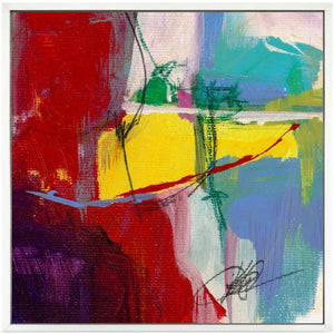 """PRIMARY CONCERN"" CANVAS ART DIPTYCH 