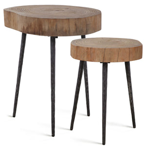 SAMBA SLICE NESTING TABLES