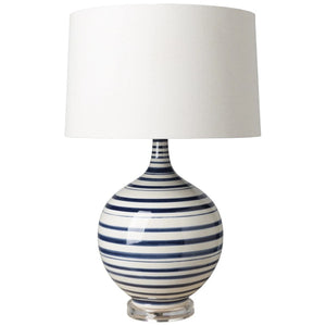 TIDELINE LAMP: NAVY, WHITE