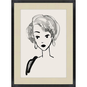 """VINTAGE BARBIE"" GLASS FRAMED ART SERIES"