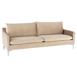 ANDERS VELVET VELOUR SOFA