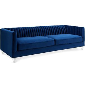AVIAN CHANNEL TUFTED VELVET SOFA