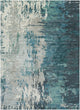 DIBA WOOL RUG: TEAL