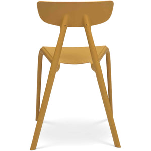 FINN SIDE CHAIR: MUSTARD | SET OF 4