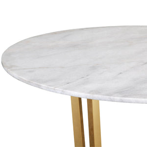 CLEO MARBLE TOP BREAKFAST TABLE