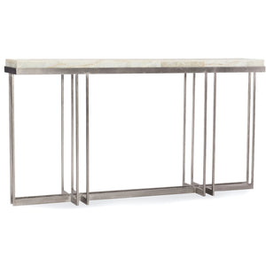 DESERT ONYX CAGE CONSOLE TABLE