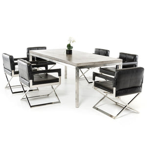 DEXTER CONCRETE DINING TABLE