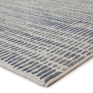 ESCAPE RUG: ASH, INK BLUE